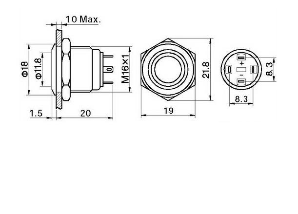 led push button switch manufacturer  u0026 supplier